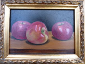 Red Apple Still Life